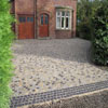 cobbles entrance house