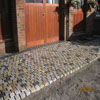 Stone cobbles construction
