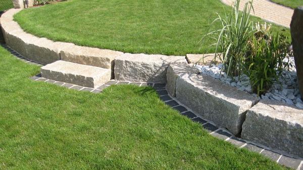 Pave pour terrasse exterieur pas cher - Bordure de jardin en pierre pas cher ...
