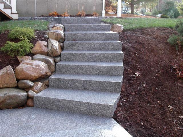 escalier granit escalier exterieur granit. Black Bedroom Furniture Sets. Home Design Ideas