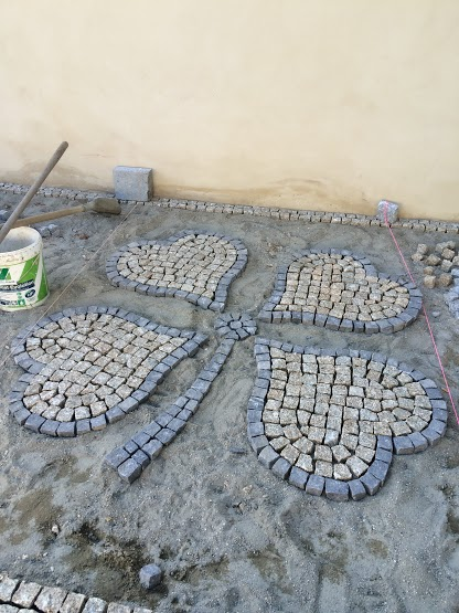 pedras decorativas para jardim florianopolis:Granito Bege